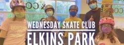 Elkins Park | Intro/Beginner Wednesday Skate Club | Age 6-9 (Nov-Dec 2021)