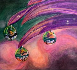 Tiered Drops MPD3  by Marilyn Dittoe